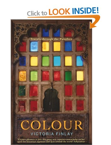 I've just ordered Victoria Finlay's 'Colour: Travels Through the Paintbox', which is all about paints, and how they've been invented, discovered, traded and used via Amazon.co.uk