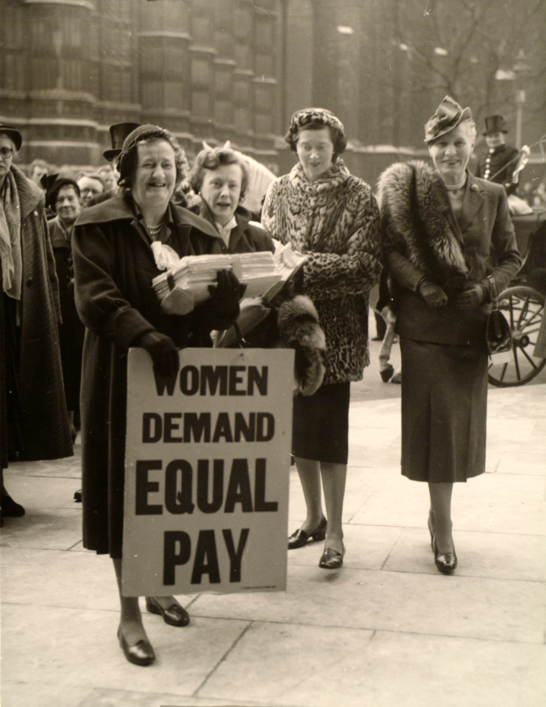 are women equal Next week gender activists and feminist organizations like the american  association of university women will be promoting equal pay day on.